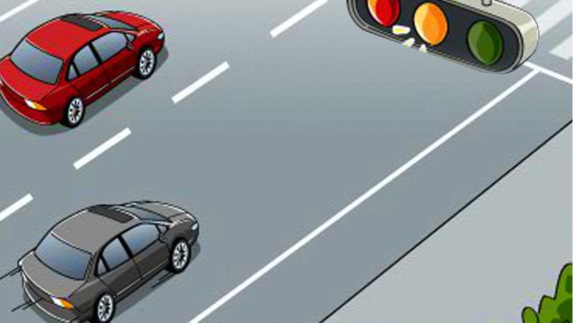 城(cheng)市道路行車安全-搶紅不搶綠